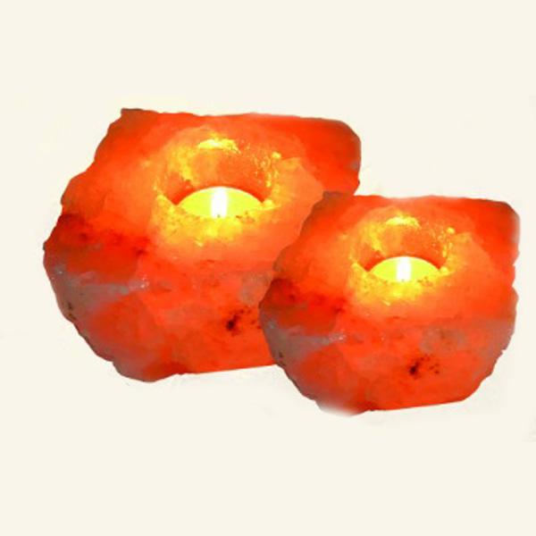 Ar 341 Aura Salt Lamp Holder With T Light Candle Aura